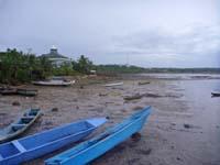 思いっきり引き潮の海岸