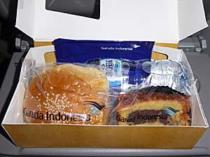 ガルーダインドネシア ラングールアンボン機内食2