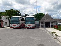 トゥルム遺跡バスターミナル