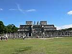チェチェンイツァ遺跡3:戦士の神殿