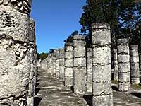 チェチェンイツァの神殿跡