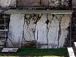 宮殿に残る彫刻