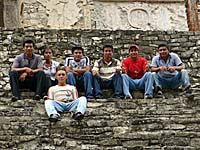 観光に来ていたメキシコ人学生