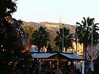 ハリウッドハイランドのハリウッドサイン