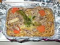 タイ国際航空 羽田-バンコク機内食 朝食