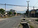 ポカラの道路
