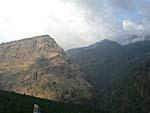ガーサ村周辺の山
