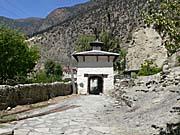 マルファ村の入り口