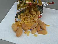 タイ国際航空 カトマンズ-バンコク つまみのミックスナッツ