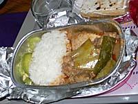 タイ国際航空 カトマンズ-バンコク機内食