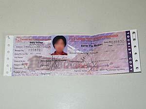 アンナプルナ地域入域許可証