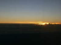 リマ-クスコ間で見られるご来光(日の出)