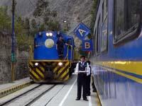 機関車登場!