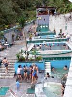 アグアスカリエンテスの温泉