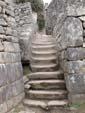一枚岩の階段