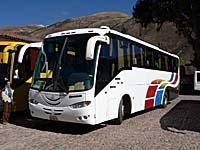 インカエクスプレスのバス