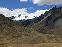 ラ・ラヤからの風景:山が綺麗