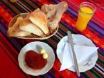 ホテルインペリアルの朝食セット