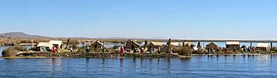 ウロス島北の島
