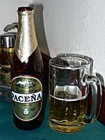 ボリビアのパセーニャビールで疲れをねぎらうのだ