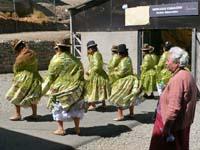 ボリビアの踊り子