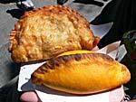 ボリビアの軽食サルテーニャ