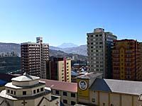 プラザホテル部屋からの眺め(6階)