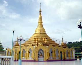 ミャンマーのパコダ