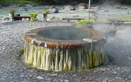 ラノーン、温泉の源泉