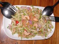 ヤムマムワン青マンゴーのサラダ