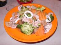豚肉とブロッコリー炒め