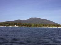 パタヤビーチとアダン島