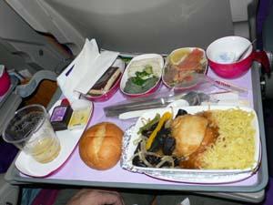 タイ航空NRT-BKK機内食2