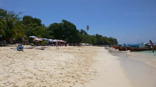 ピピ・ドン島:ロングビーチ