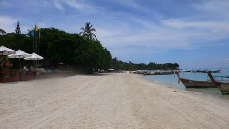 ピピ島のレムトンビーチ