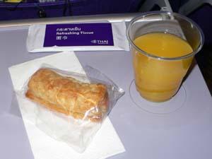 タイ航空BKK-NRT機内食4