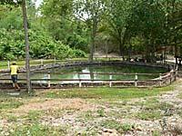ノンヤプロン温泉の源泉