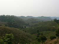 ラフ族の村周辺から眺めた景色
