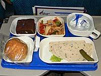 バンコクエアウェイズ チェンライ-バンコク機内食