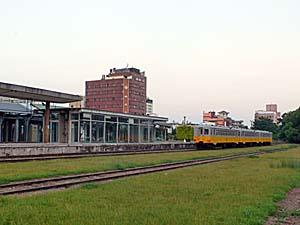 旧台東駅近辺の様子