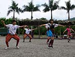民族舞踊レストランの踊り子の踊り3