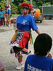 巴古崙岸部落の豊年祭で最もイカしてた大姐