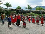 他の部落の招待演舞2