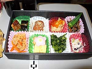日本航空 台湾線の京のおばんざい弁当シリーズ