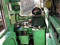 花蓮鈍行列車の運転席