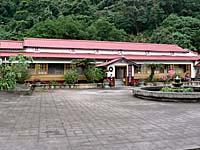 紅葉温泉山荘の日本式の建物