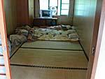 紅葉温泉山荘の日本式のたたみの部屋