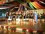 ブヌン族の八重唱のショー2