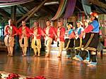 ブヌン族の八重唱のショー3