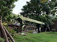 布農部落のオブジェ